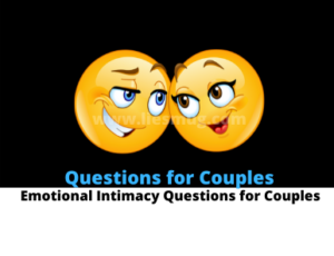 Emotional Intimacy Questions for Couples