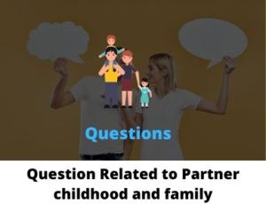 Question for couples about family
