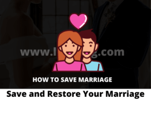 Save and Restore Your Marriage