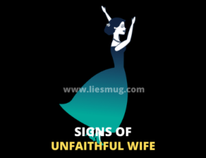 Signs of unfaithful wife