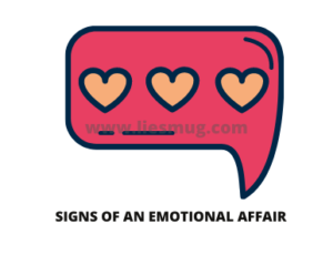 Signs of an emotional affair