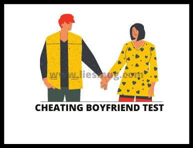 Cheating Boyfriend Test