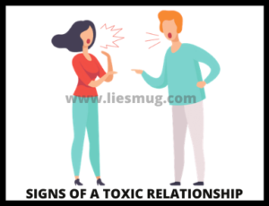 Signs of a toxic relationship ( Random Signs)